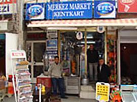 Merkez Tekel Market Kent Kart Dolum Noktası